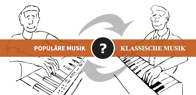 Klavier lernen: Populäre Musik oder Klassische Musik